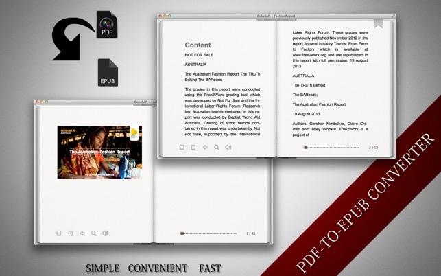 ‎Batch PDF to ePub Converter