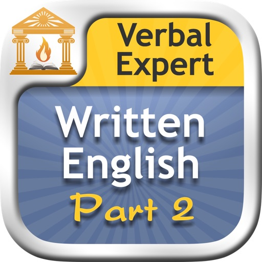 Verbal Expert : Written English Part 2 FREE icon
