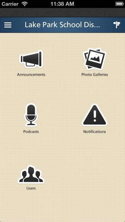 Schoolwires® Mobile screenshot-3