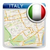 意大利离线的道路地图,导游,酒店(免费版) (Italy offline map)
