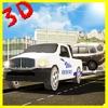 極端な車の輸送トラックの駐車場や運転シミュレーター3D