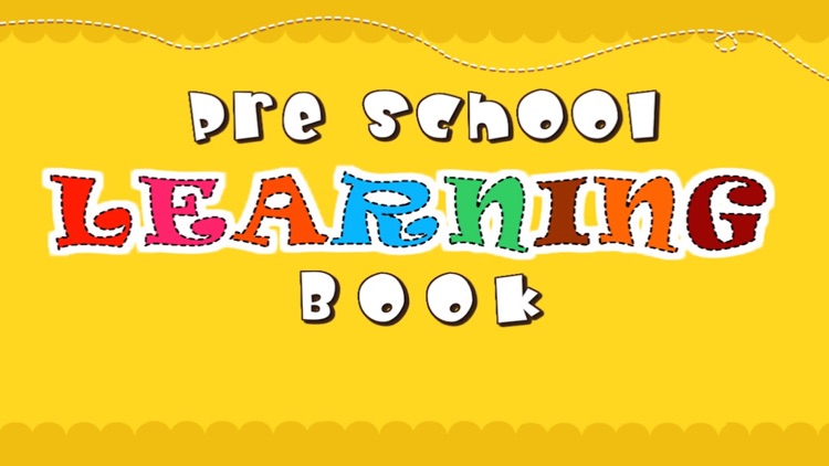 Preschool Learning Book - Learning Book For Kids And Toddlers