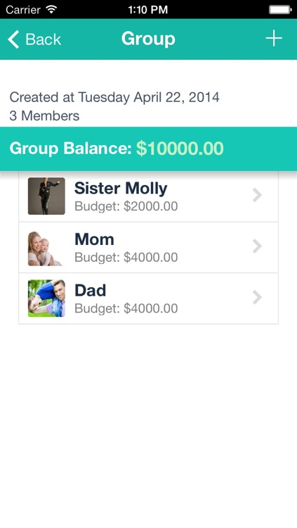 Group Finance Expense Tracker & Travel Budget Account Planner by
