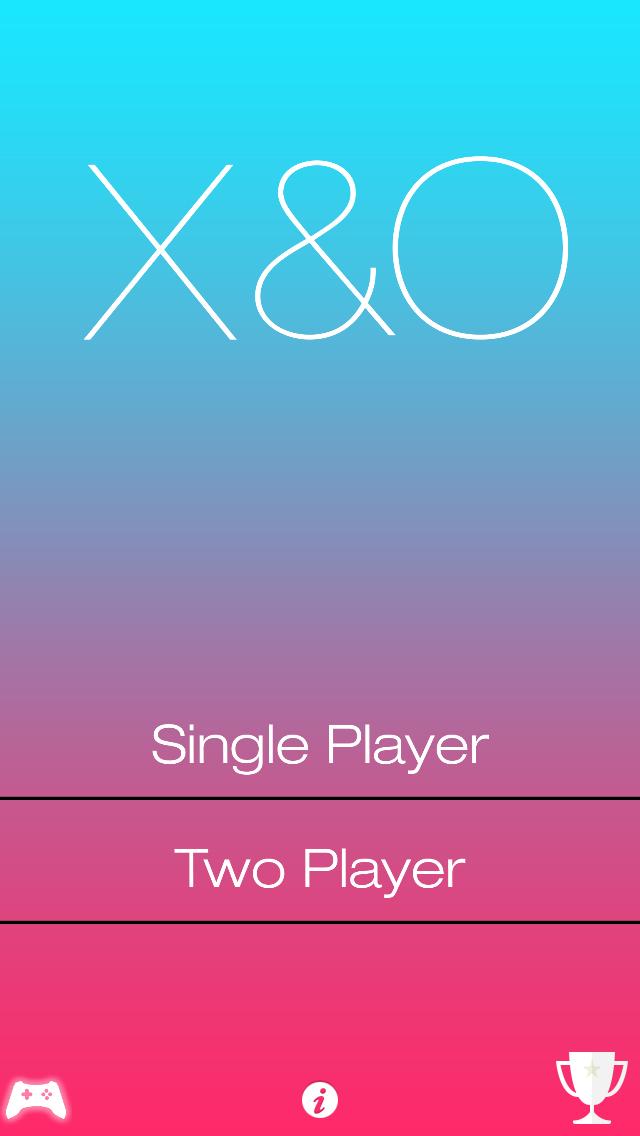 X and O screenshot one