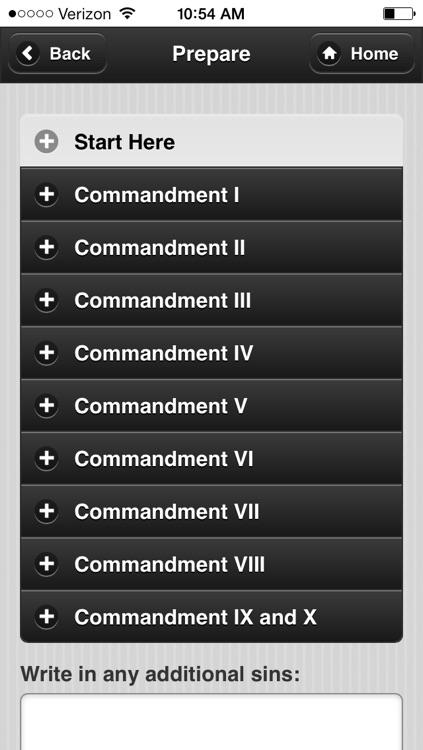 Confession App: Catholic Sacrament