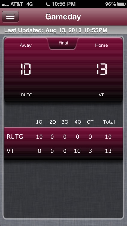 Virginia Tech Football Live screenshot-4