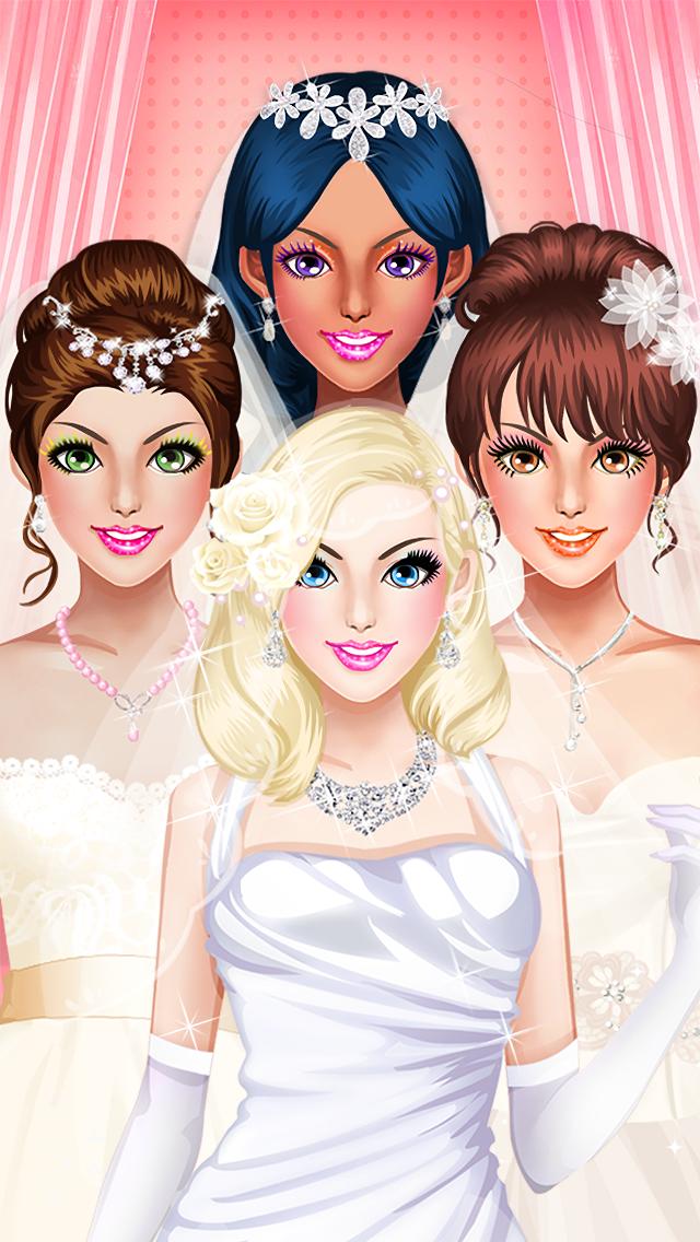 Wedding Makeover - Girls Gamesのおすすめ画像4