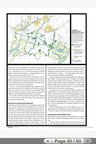 Planning magazine - náhled