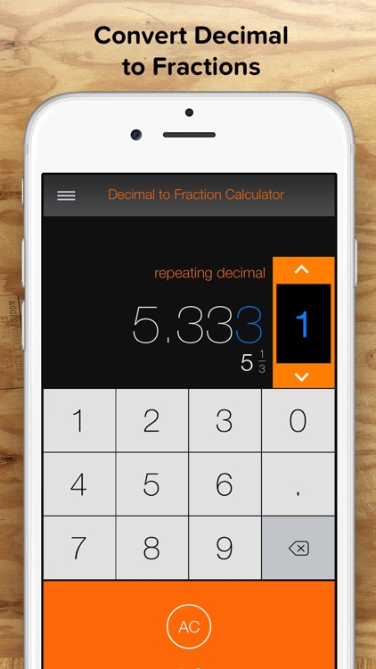 Fraction Calculator + Decimals to Fractions