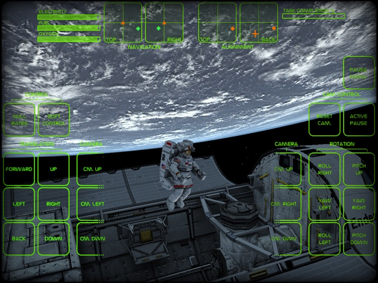 Astronaut Spacewalk HD screenshot-4