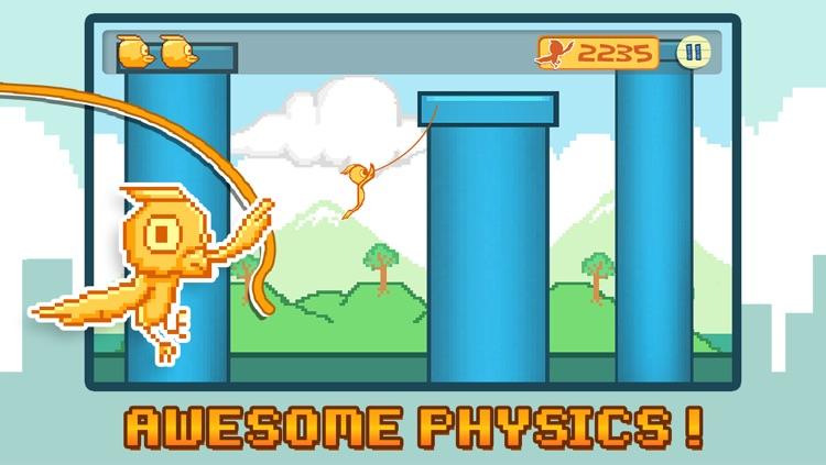 Flappy Dash - Tiny Bird Flying Through The Jungle FREE