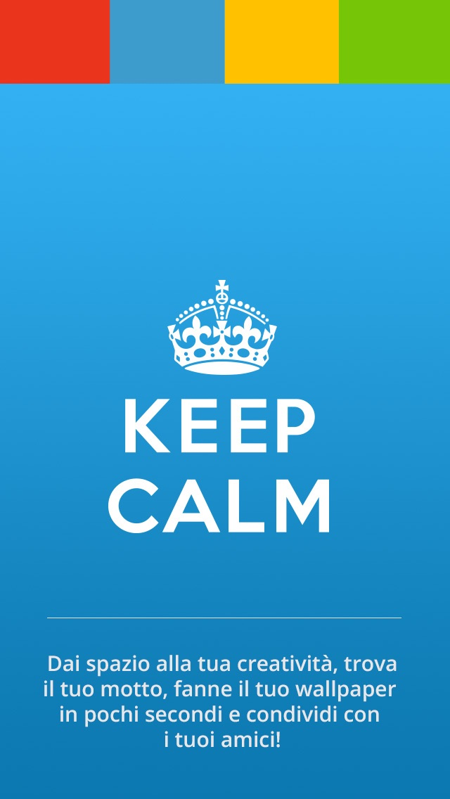 Keep Calm for iPhone