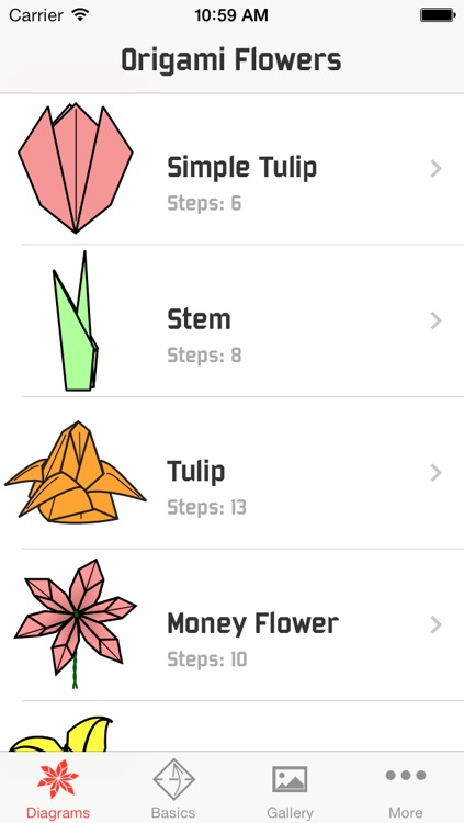 Origami Flowers screenshot-0