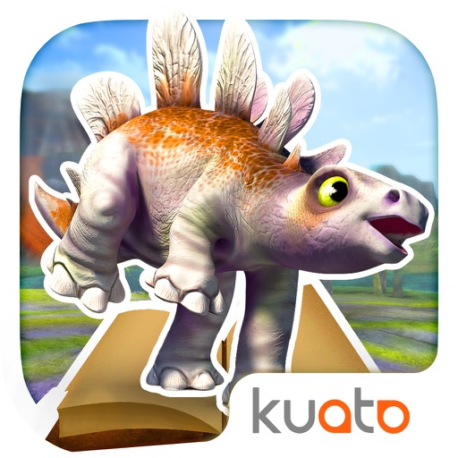 Dino Tales Español – aprende a leer a través del juego creativo iOS App