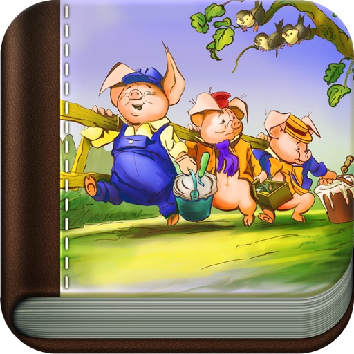 Three Little Pigs - Stories for Kids