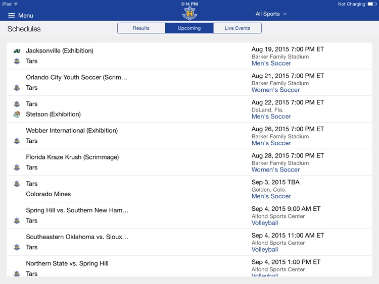 Rollins College Athletics for iPad 2015 screenshot-1