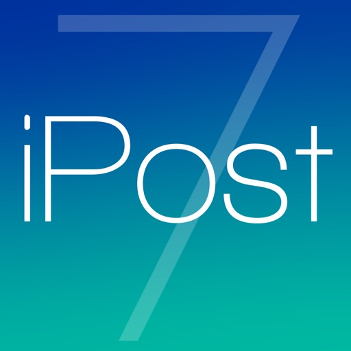 iPost 7 - Fastest Way To Post Social Media Updates
