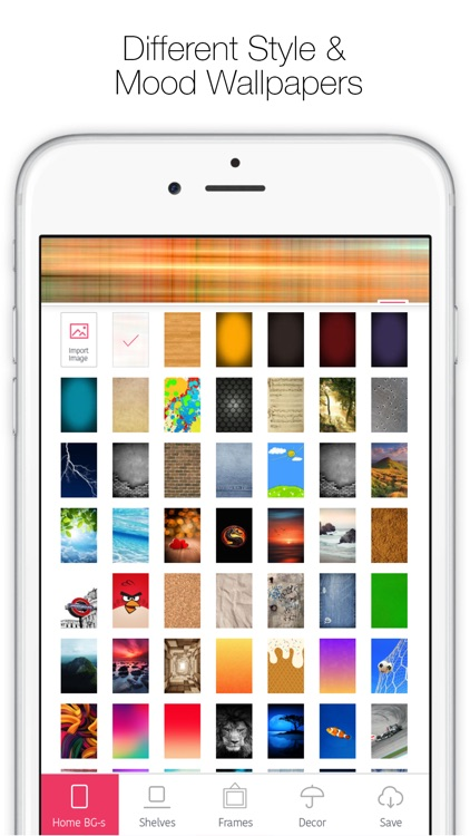 Icon Skins Builder - Create Custom Home & Lock Screen Backgrounds and Wallpapers screenshot-3