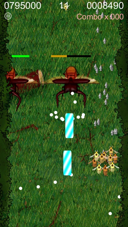 BeeCluster - FREE top-down scrolling shoot 'em up game