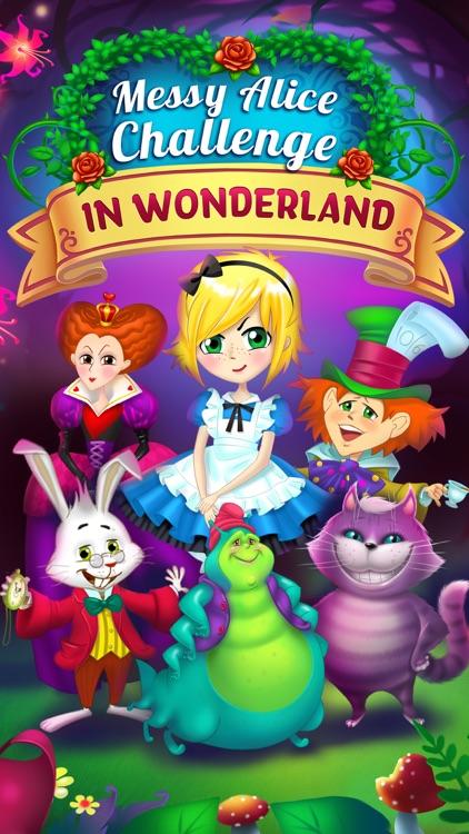 Messy Alice Challenge - Adventures in Wonderland screenshot-3