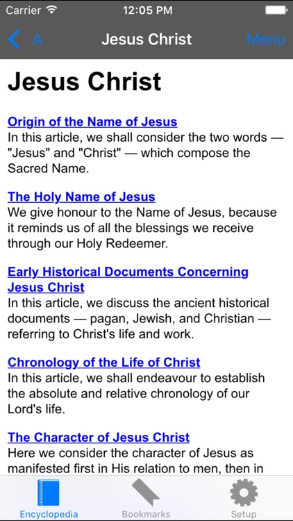 Catholic Encyclopedia Offline