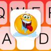 Clavier pour textos - Clavier animé coloré avec arrières-plans de photos HD, des polices sophistiquées et des nouveaux emojis pour WhatsApp Messenger, Facebook...
