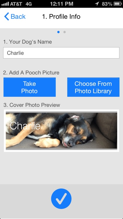 Paw Tracks - dog walking pet tracker for groups and friends screenshot-4