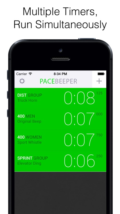 Pace Beeper – Coach Hart Track Interval Pacing System