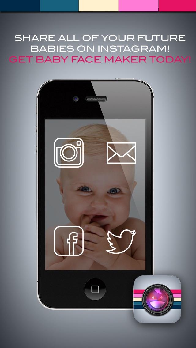 Babygesicht-Ersteller – Erstelle Babys mit Gesichtern von Freunden, um Künftigen Sohn Oder Tochter zu SehenScreenshot von 5