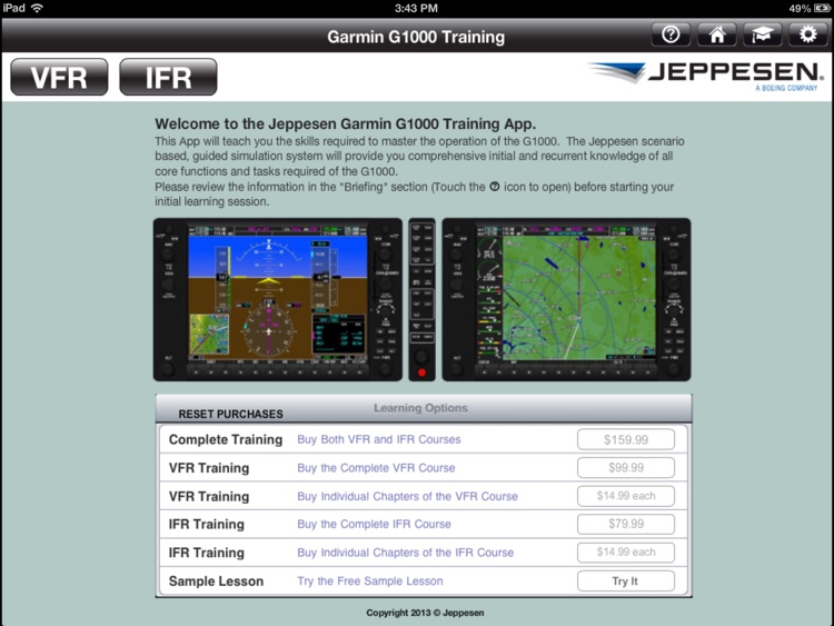 Garmin G1000 Training Bundle