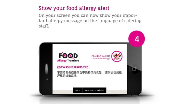 Food Allergy Translate Free screenshot-3