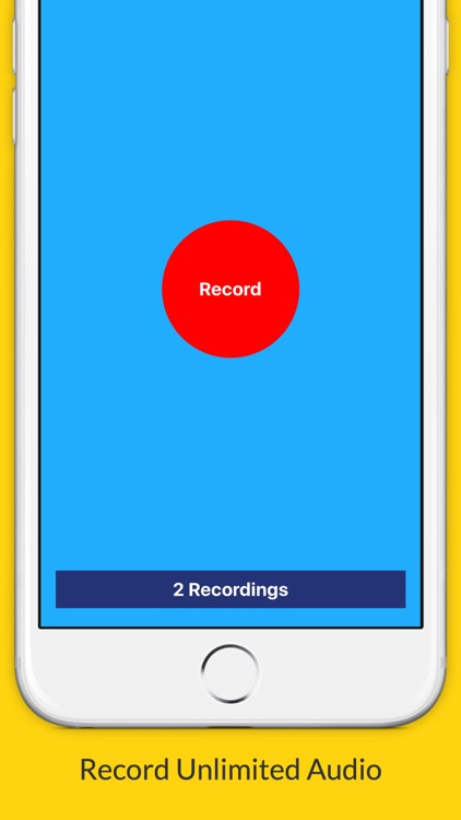 Voice Recorder: Premium Edition (Perfect For Recording Meetings, Lectures, Interviews etc.) screenshot-0