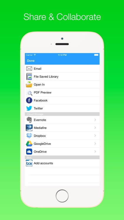 iScanPDF Free - PDF Scanner, Scan document upload to MultiCloud screenshot-3