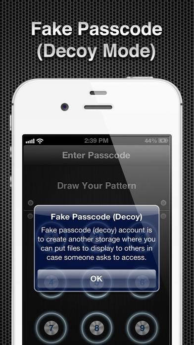 Screenshot #3 pour App Secret