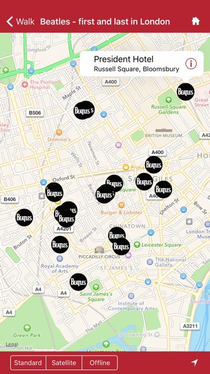 London Walks - the Beatles edition screenshot-3