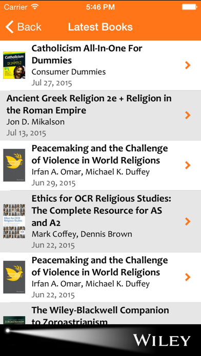Religion & Theology Spotlight screenshot three