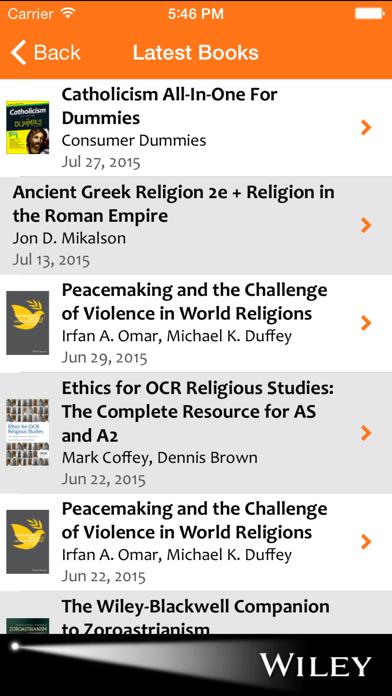 Religion & Theology Spotlight screenshot three