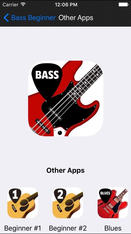 Beginner Bass method HD screenshot-4