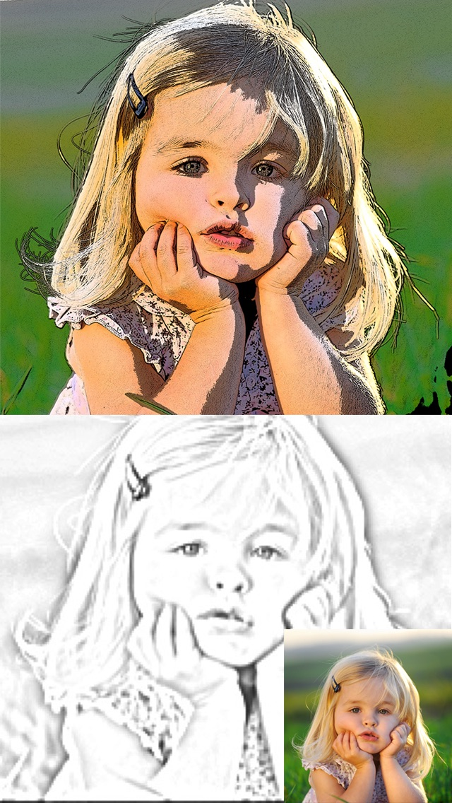 Cartoon Camera Free - univision Sketch Effects In Cam Photo Screenshot