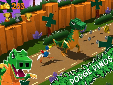 Cartoon Survivor - Jurassic Adventure Runner для iPad