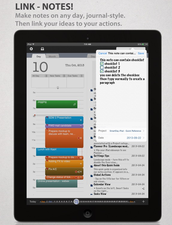 SmartPad Organizer screenshot-1