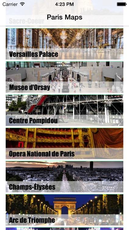 Paris Map offline- Ultimate Pocket paris guide with paris ratp RER paris metro map, Noctilien paris bus Routes Map, Transilien, France paris maps, paris Street map