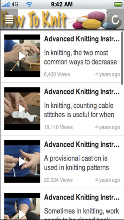 How To Knit: Learn How To Knit and Discover New Knitting Patterns! screenshot-3