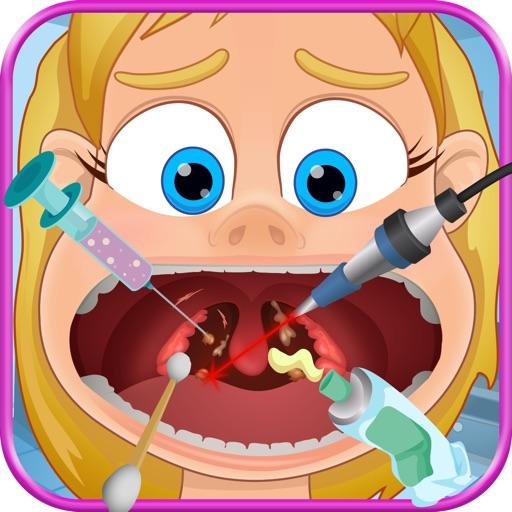 Kids Throat Doctor - Tonsil Surgeon
