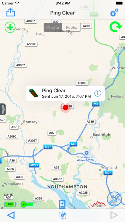 Ping Tracker