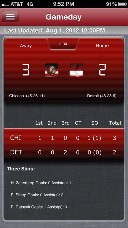 Detroit Hockey Live screenshot-0