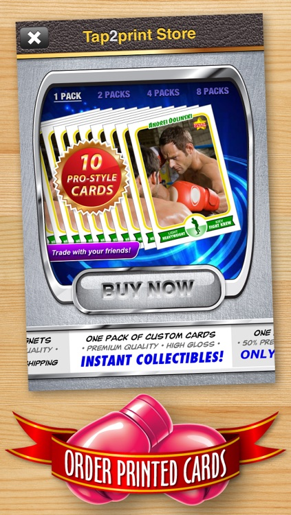 Boxing Card Maker - Make Your Own Custom Boxing Cards with Starr Cards screenshot-4