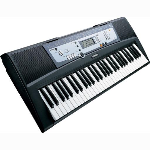 !iM: Клавка, классический монофонический синтезатор, Играет как синтзаторе Yamaha с полноэкранной клавиатура фортепиано. Free Version.