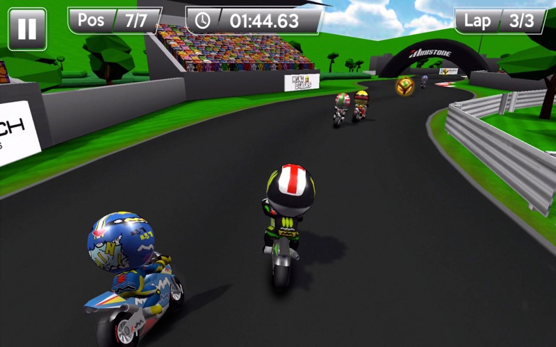 MiniBikers: The game of mini racing motorbikes screenshot 3