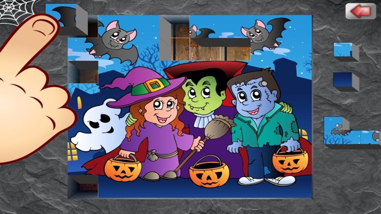 Creepy Halloween Puzzle For Kids And Toddlers screenshot-4